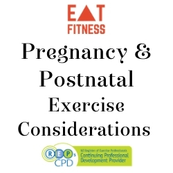 Pregnancy & Postnatal Exercise considerations (NZ)